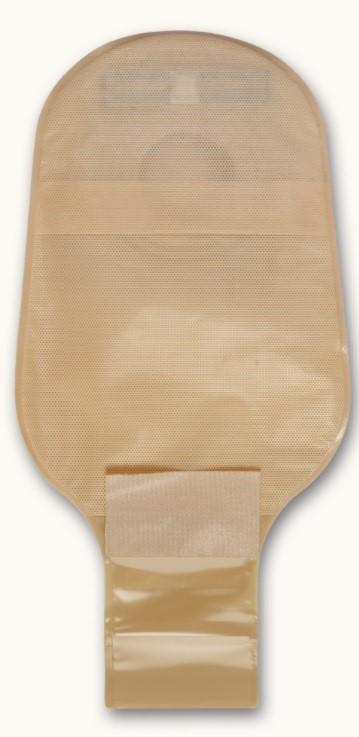 Σάκος ειλεοστομίας με εξαιρετικά, μακράς διαρκείας φίλτρο με μεμβράνη τύπου GoreTex που αποτρέπει τη διείσδυση της υγρασίας.